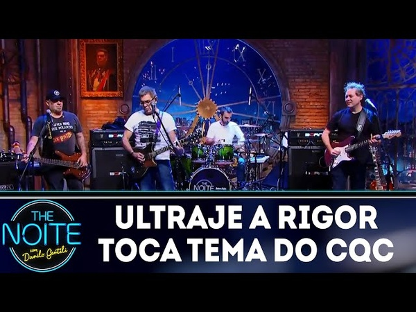 Ultraje a Rigor toca tema do CQC | The Noite (090418)