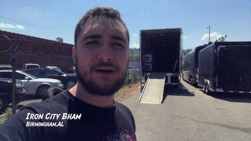 Alex Bent: US Spring Tour 2018 - Vlog 1