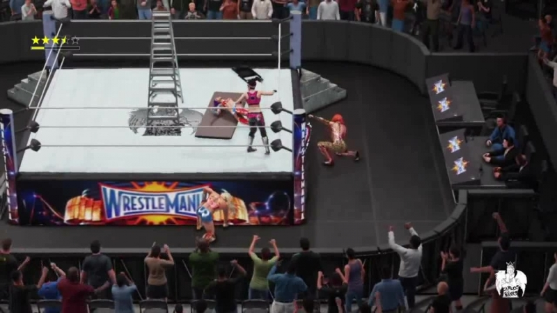 Womens Universe 79 WM Sasha vs Bayley vs Becky vs Charlotte Womens Championship WWE2K18