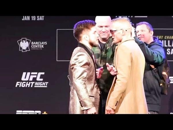 ДИЛЛАШОУ СЕХУДО ВЫБОР БОЙЦОВ UFC
