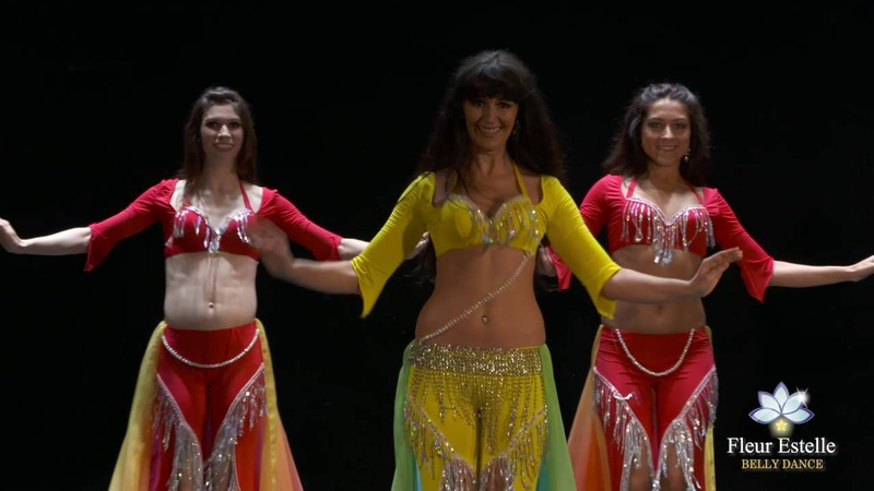 Shaabi Fever Shaabi Style fusion Belly Dance by Fleur Estelle Dance Company (Summer Showcase 2016)