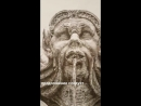 Artak Mikaelian - деталь незаконченной картины La Fontana Di Piazza Del La Rotonda, Roma (Panteón)