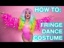 How To Sew a Fringe Dance Costume! (DIY Fringe from Fabric)