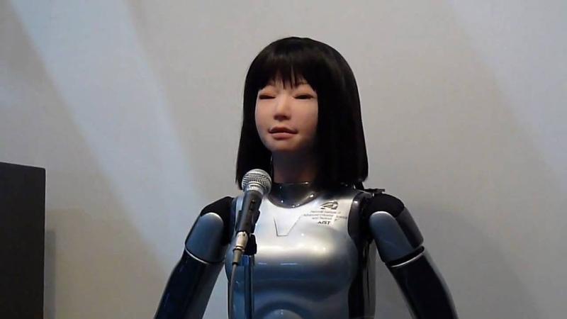 「HRP-4C 未夢(ミーム)」が歌う「涙そうそう」