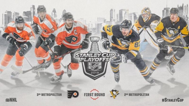 НХЛ - плей-офф Филадельфия–Питтсбу