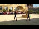 Гиревики жонглеры, дербетский педогогический колледж. 01.09.18.