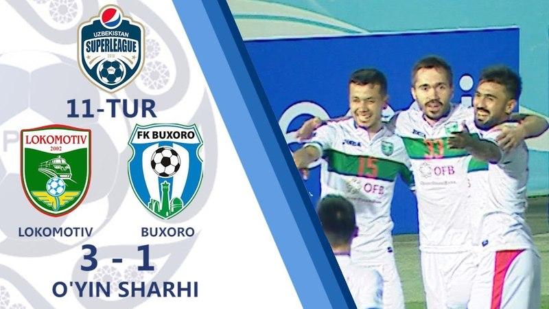11.05.2018. Lokomotiv - Buxoro - 31 | Oyin sharhi (Superliga 11-tur)