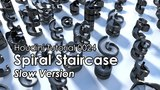 [Houdini Tutorial] 0024 Spiral Staircase (Slow version)