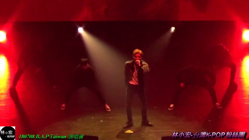 180708 B.A.P Taiwan 演唱會 鐘業 solo Try my luck (19)