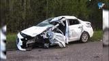 На дороге Валдай Устюжна случилась авария, один человек погиб, четверо ранены