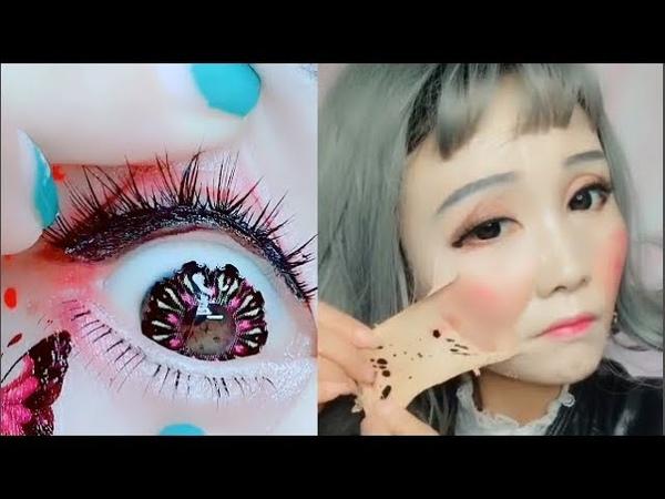 카메라에 찍히지 않았다면 믿을수 없는 메이크업 순간들 13 l Best Viral Asian Makeup Hacks and Transformations 201