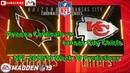Arizona Cardinals vs. Kansas City Chiefs | NFL 2018-19 Week 10 | Predictions Madden NFL 19