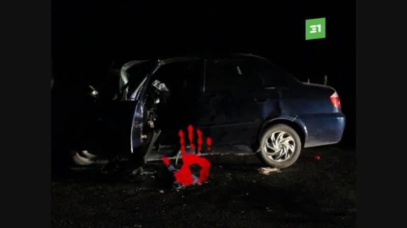 В Верхнеуральске нетрезвый мужчина за рулем Mitsubishi Lanсer не справился с управлением и выехал на полосу встречного движения