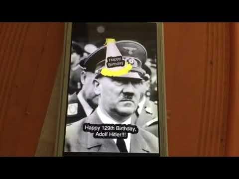 Happy 129th Birthday, Adolf Hitler
