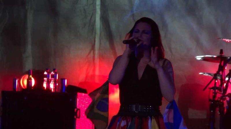 Evanescence Lacrymosa Live Music Rocks HSBC Arena Rio 06 10 2012