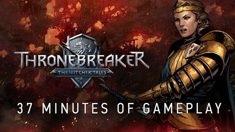 Thronebreaker: The Witcher Tales | 37-minute Gameplay Walkthrough