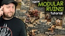 Modular Ruins For DD, Frostgrave, and Wargaming (Black Magic Craft Episode 092)
