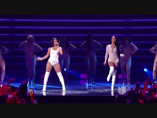Becky G, Natti Natasha ~ Sin Pijama (Premios Juventud 2018 ¦ Gala en Directo) HD