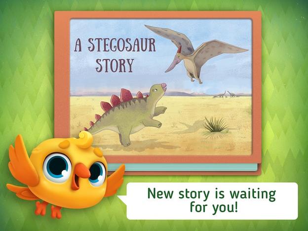 stegosaur bedtime story