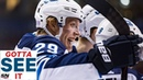 GOTTA SEE IT: Patrik Laine Tortures The Blues With Five Goals