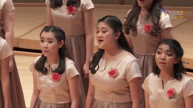 Cantate Domino (Josu Elberdin) - St. Louis High School Choir Indonesia