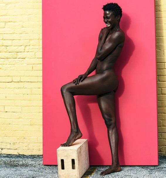 Чемпионка США по лёгкой атлетике Тори Боуи в фотосессии ESPN The Body Issue : Дана Скраггс
