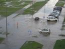 Лужа после дождя в Мозыре 15.07.18г