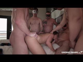 [1080] Одна на всех gb gangbang creampie cum inside dp double penetration group orgy двойное проникновение