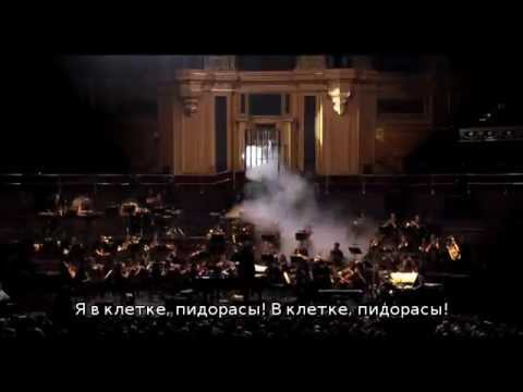 Tim Minchin and Heritage Orchestre I'm in cage русские субтитры