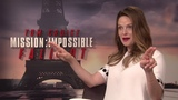 MISSION IMPOSSIBLE FALLOUT Rebecca Ferguson Interview