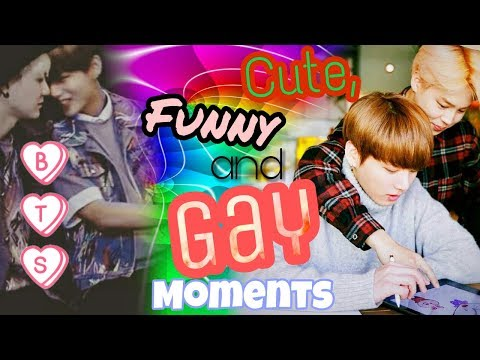 BTS | Cute, Funny and Some Gay Moments \Bangtan Boys