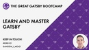 Gatsby JS - The Great Gatsby Bootcamp Full Tutorial