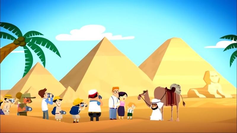 Фиксики История вещей Пирамиды Fixiki