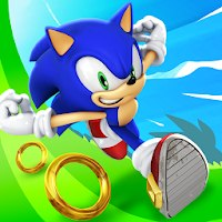 Sonic Dash [Мод: много колец]