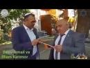 Евреи из Азербайджана сожгли армянский флаг в Израиле