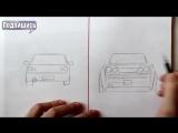 [Ehedov Elnur] Как нарисовать Машину Легко и Просто - Уроки рисования для начинающих