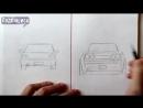 Ehedov Elnur Как нарисовать Машину Легко и Просто Уроки рисования для начинающих