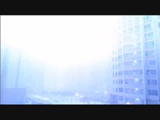 Снежная гроза в Москве, Россия, в ночь на 19 Января 2019.
