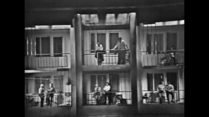 Московская серенада. Комедия с песнями или просто мюзикл.(Отрывок из телеспектакля: Маленькие комедии большого дома).