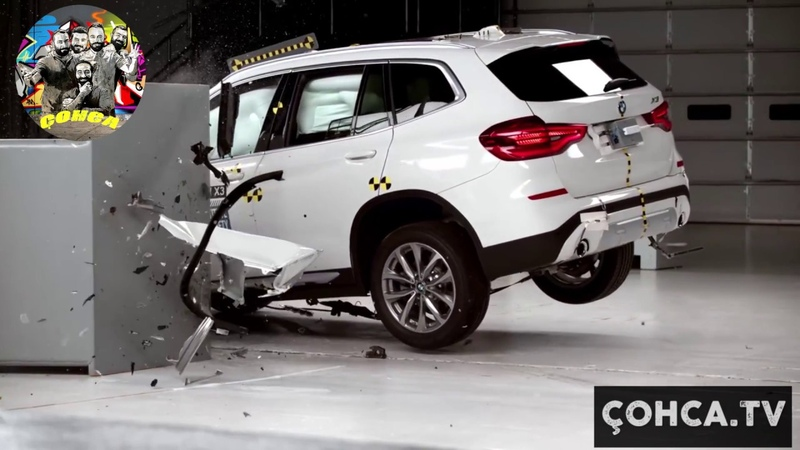 Bmw X3 Land Rover Grand Cherokee Volvo XC60 Çarpışma Testi Car Accident test