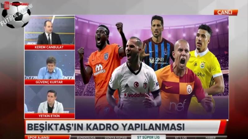 BEŞİKTAŞ Spor Ajansı ¦ Quaresma, Pepe, Vida Yorumları 29 Haziran 2018
