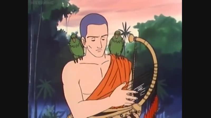 Seishun Anime Zenshuu Ep 26 EngSub Бирманская арфа Biruma no Tategoto Zenpen Hanyū no Yado ビルマの竪琴 前編 埴生の宿 Митио Такэяма