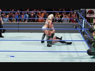 WWE 2K19 - Alexa Bliss & Mickie James VS Bayley & Charlotte Flair