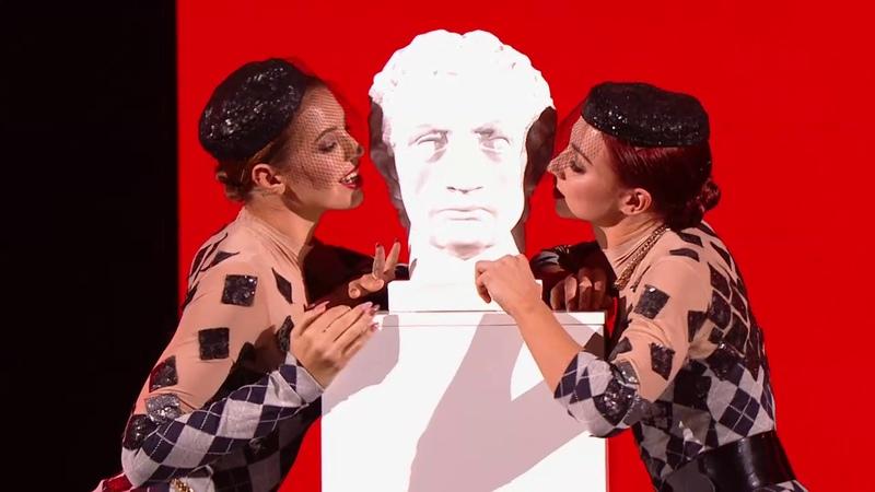 ТАНЦЫ: Валерия Бабаян и Лилия Симонова (Free Love - Pushing Too Hard) (сезон 5, выпуск 14)