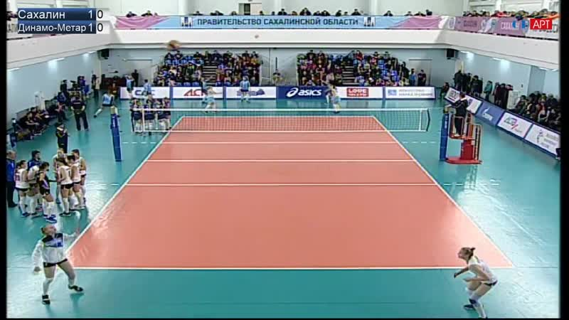 Волейбол Женщины Суперлига Сахалин - Метар 25_11_2018