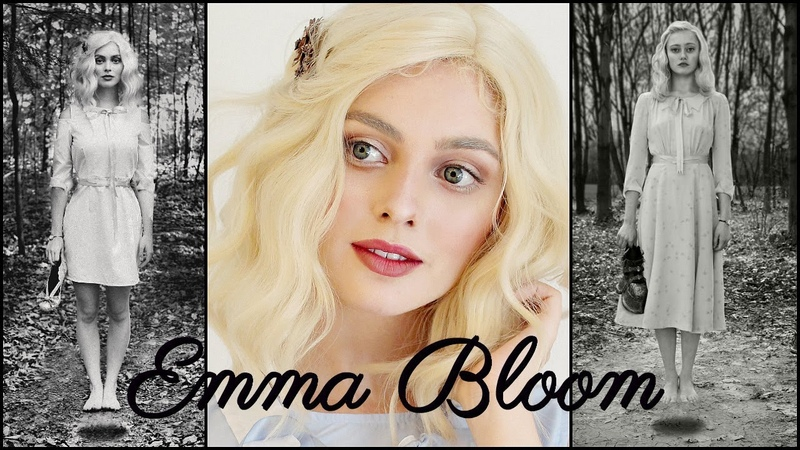 Emma Bloom Makeup Hair Tutorial | Ella Purnell in Miss Peregrine's Home for Peculiar Children