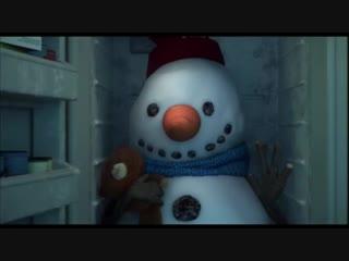 Лили и Снеговик. Душевный, добрый мультик
