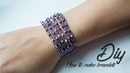 Bracelet | How to make bracelets | DIY Beaded Bracelet | Black Pearl