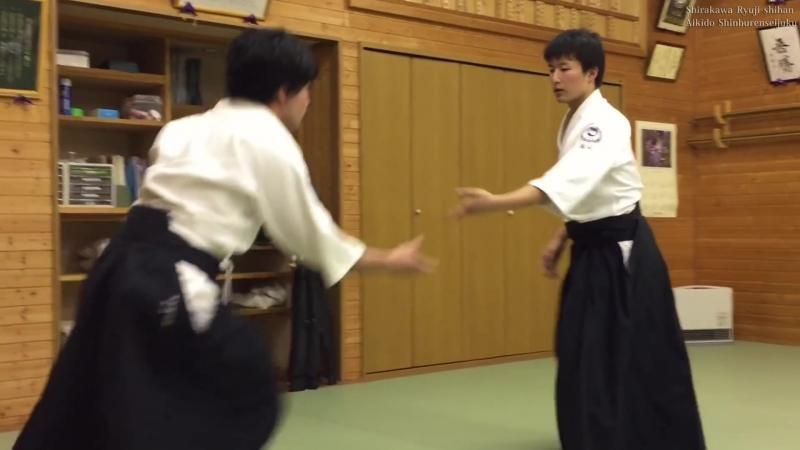 合気道 自由技で投げあう Aikido Throwing to each other ( 1080 X 1920 ).mp4
