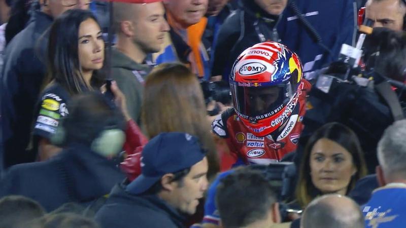 Ducati in action: VisitQatar Grand Prix
